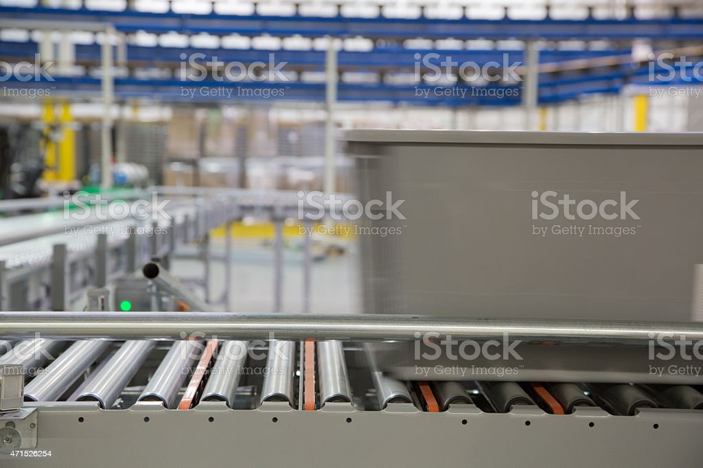 Warehouse System Series 5 stock photo