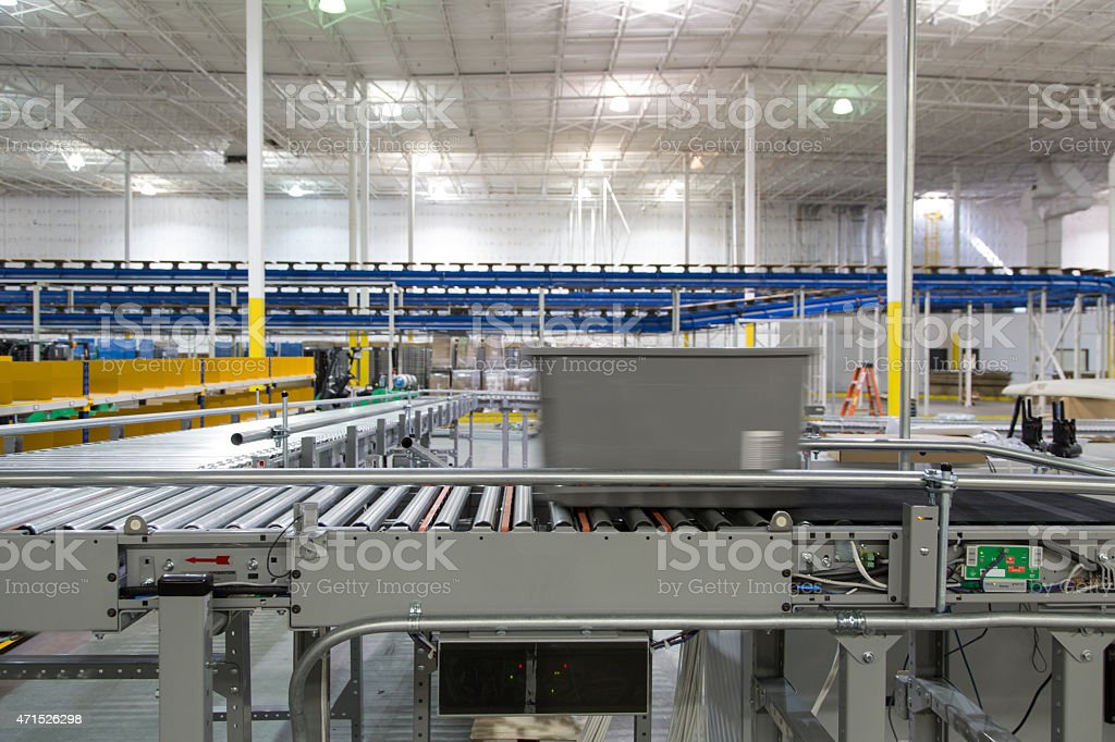 Warehouse System Series 6 stock photo