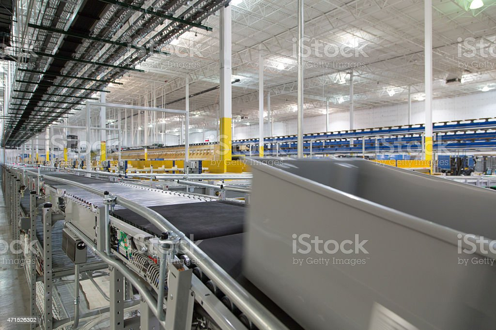 Warehouse System Series 8 stock photo