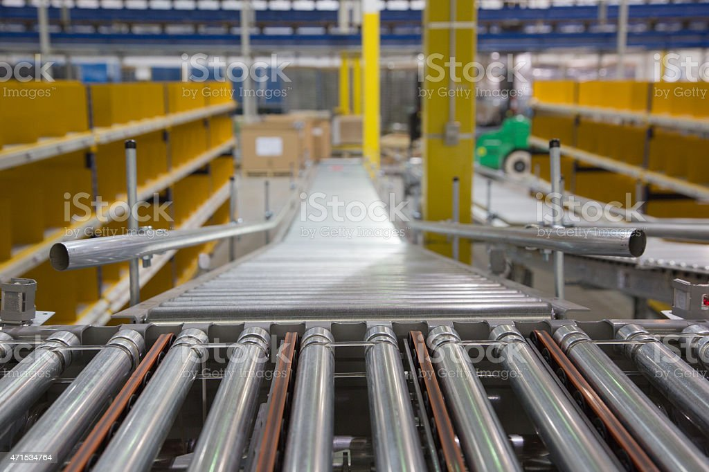 Warehouse System Series 9 stock photo