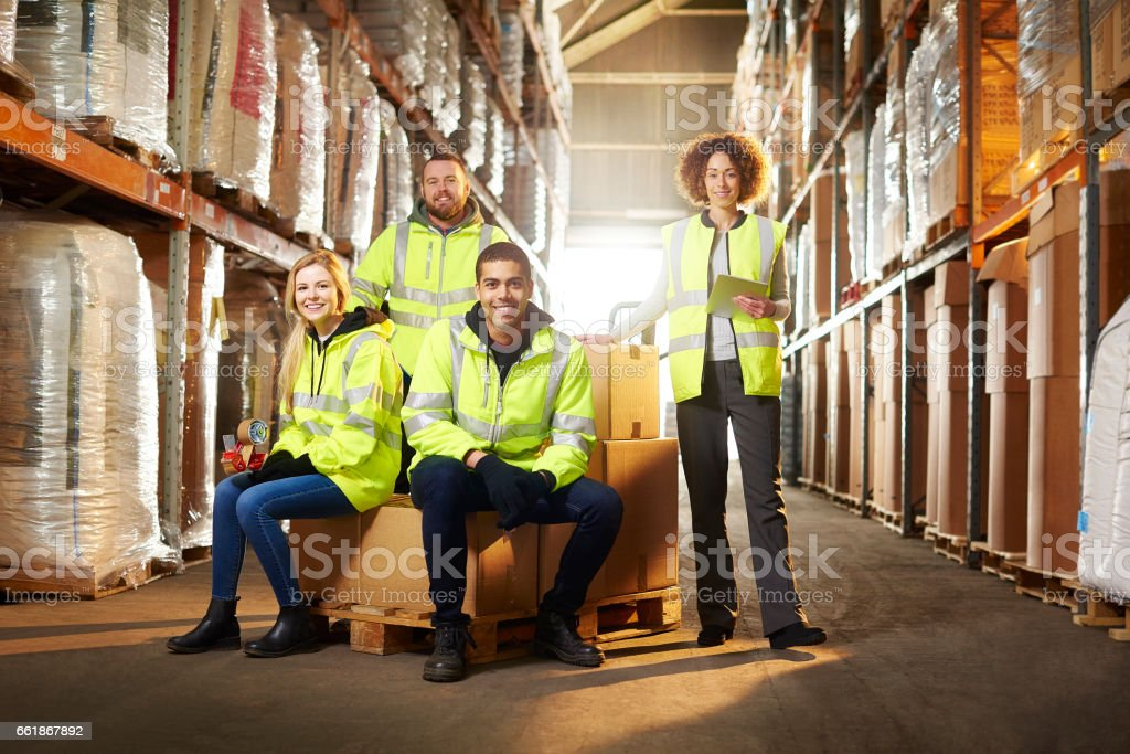 warehouse-team – Foto