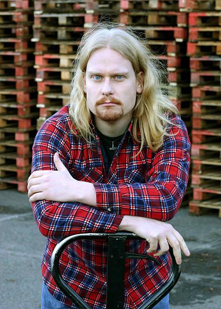 Warehouse worker 2 stock photo