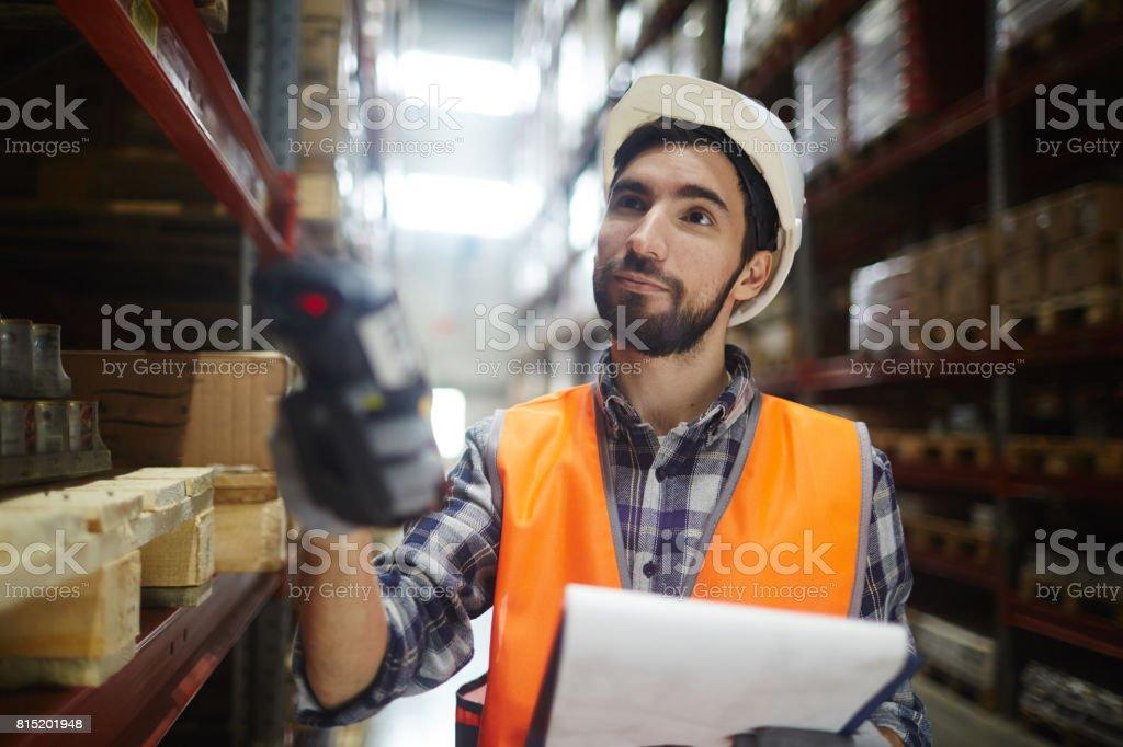Travailleur entrepôt de - Photo
