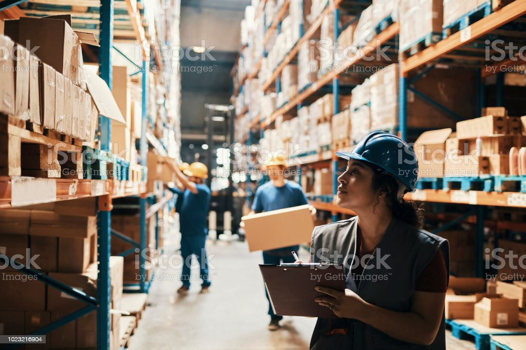 Warehouse Arbeiter – Foto