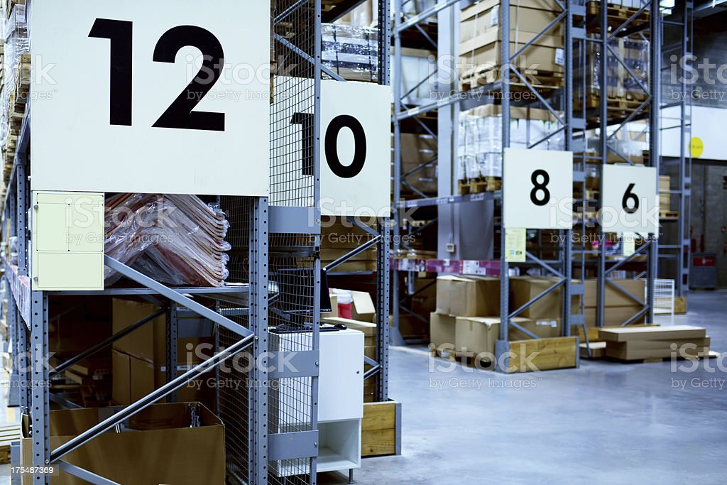 Warehouse - XXXXXLarge stock photo