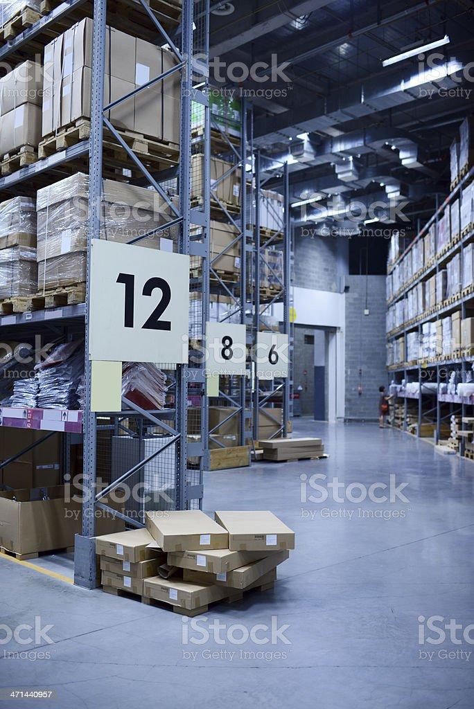 Warehouse - XXXXXLarge royalty-free stock photo