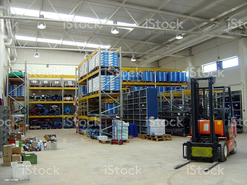 warehouse1 royalty-free stock photo