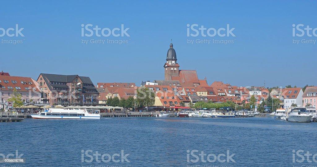 Waren,Mueritz,Mecklenburg Lake District,Germany stock photo