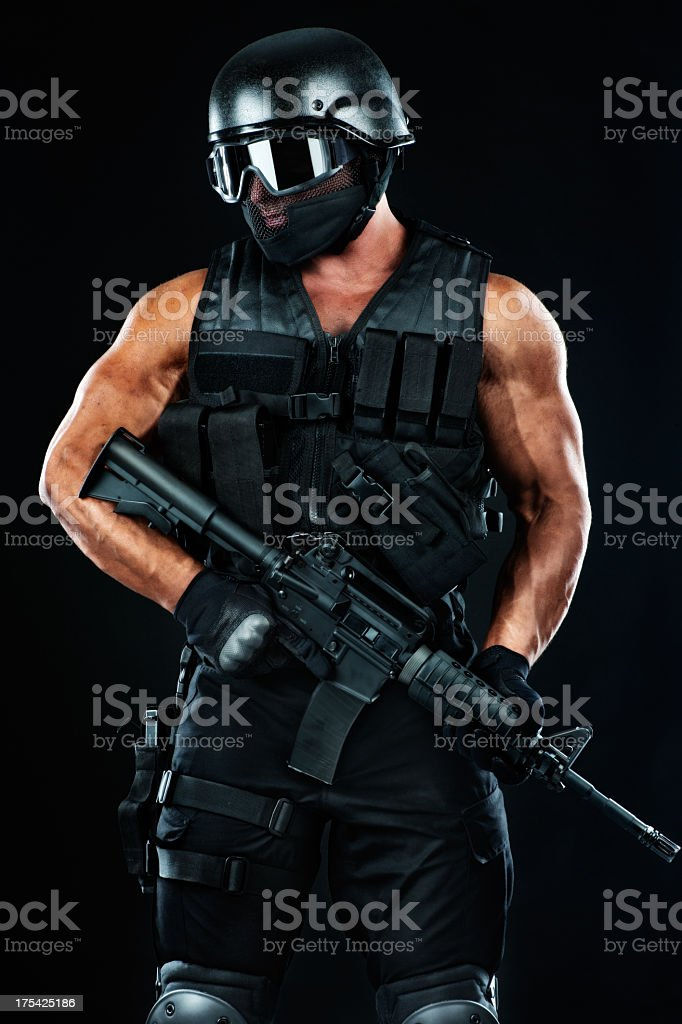 Warfare stock photo
