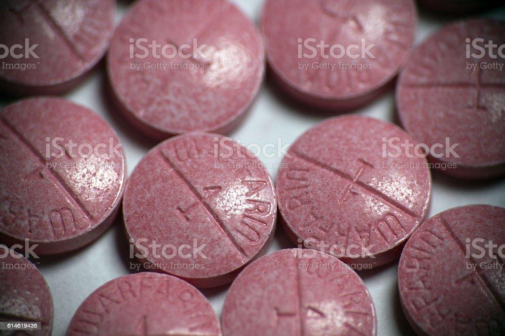 Warfarin stock photo