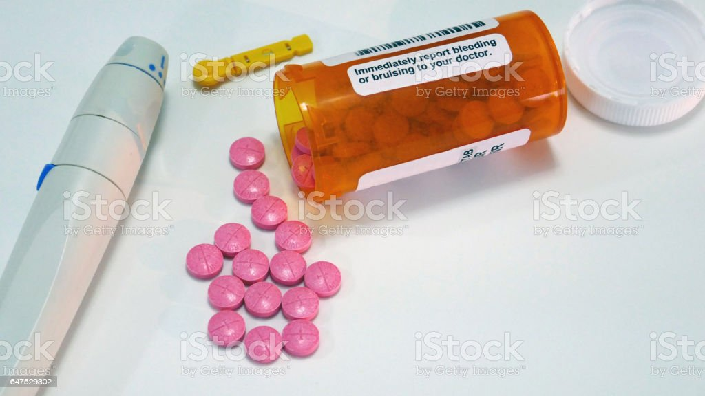 Warfarin Side Effects stock photo