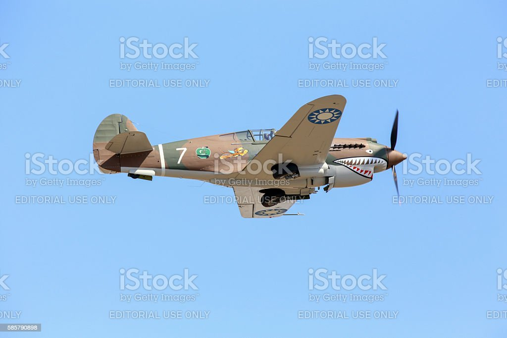 Warhawk stock photo