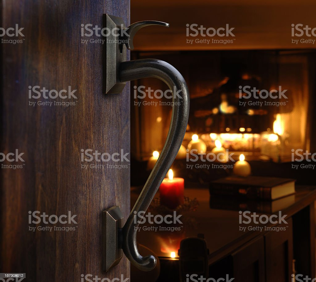 Warm and Inviting royalty-free stock photo