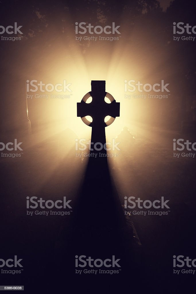 Warm Celtic Light stock photo