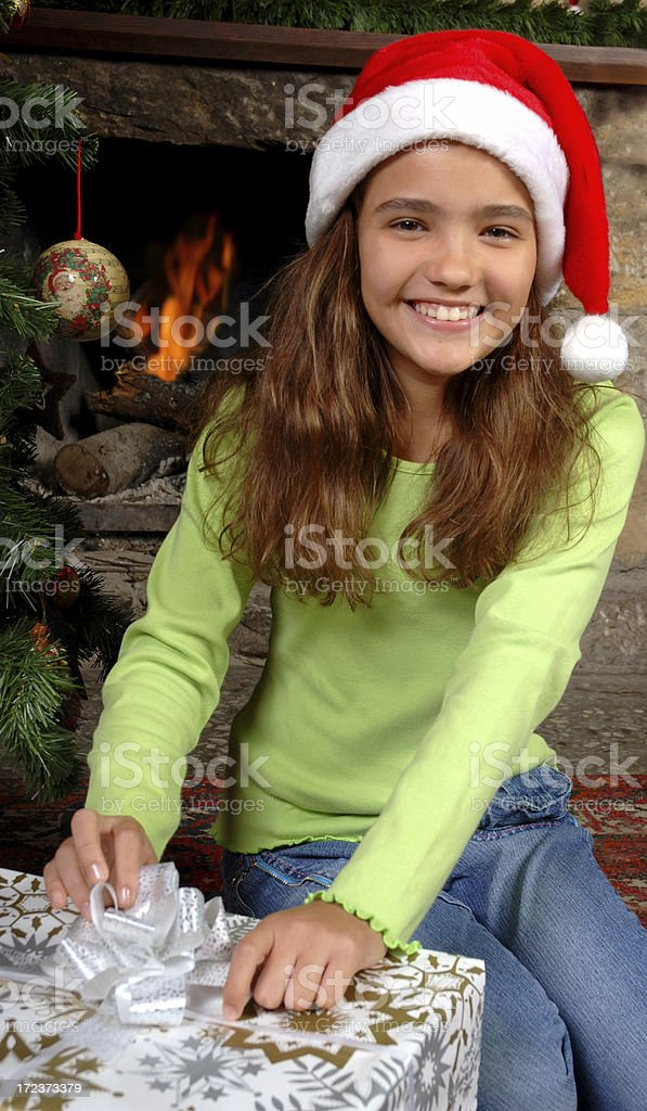 Warm christmas royalty-free stock photo