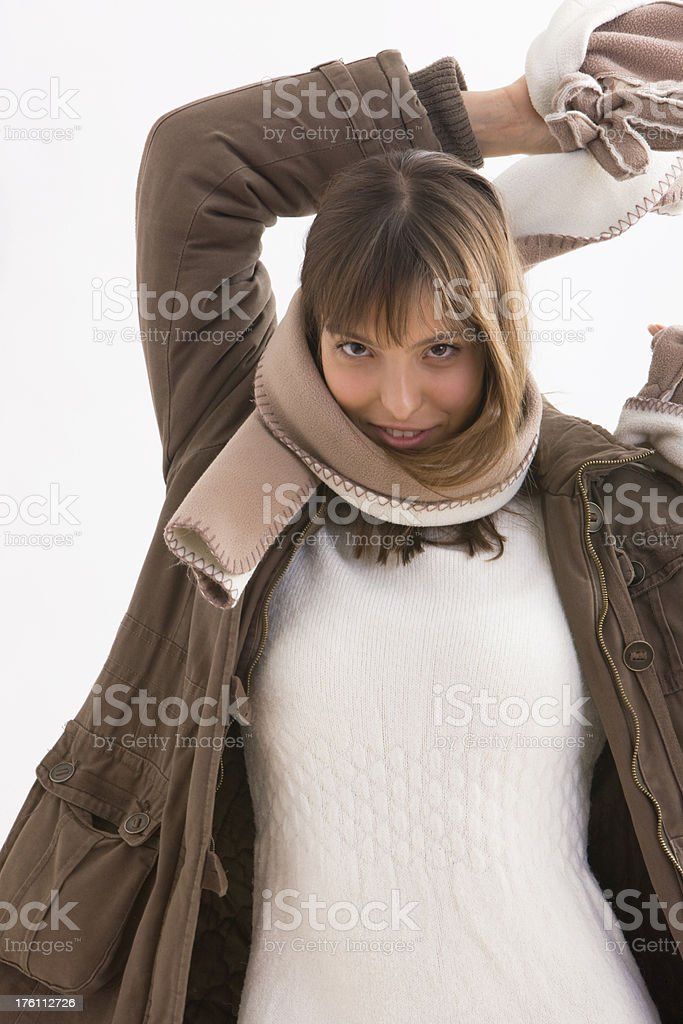 Warm clothing royalty-free stock photo