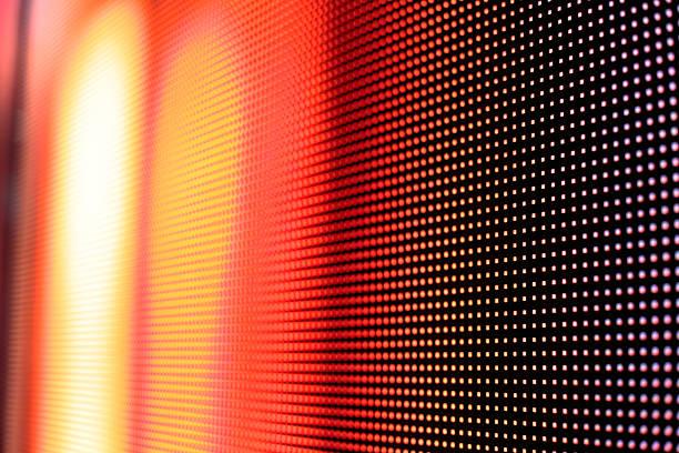 Warmen Farben smd-LED-Wand – Foto