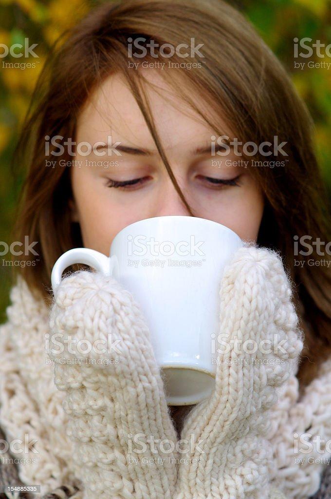 Warm Drink royalty-free stock photo