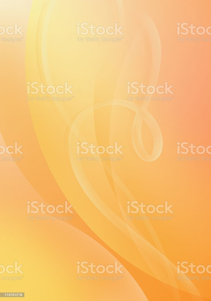 Warm Filigree stock photo