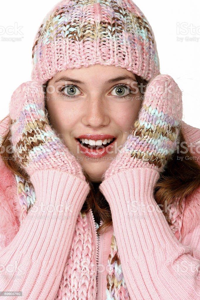 Warm Girl royalty-free stock photo