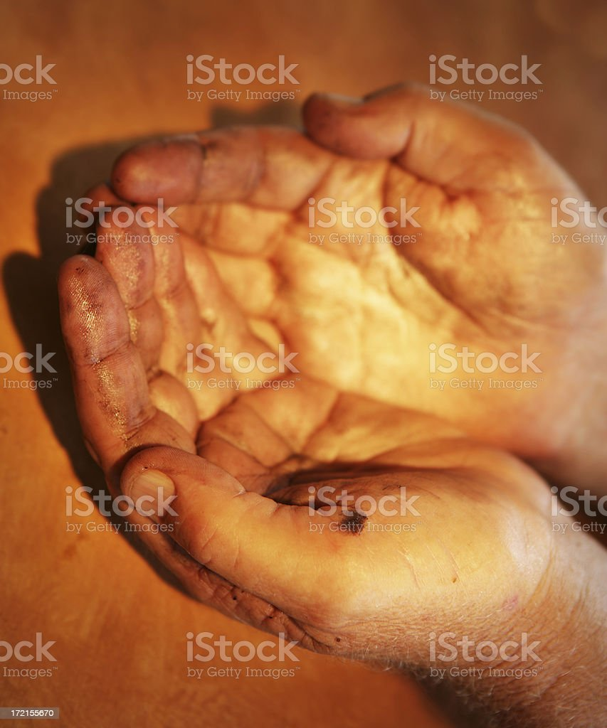 Warm Hands royalty-free stock photo