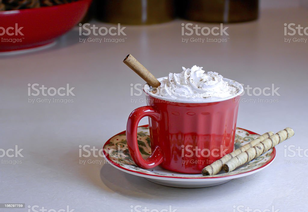 Warm Holiday Drink royalty-free stock photo