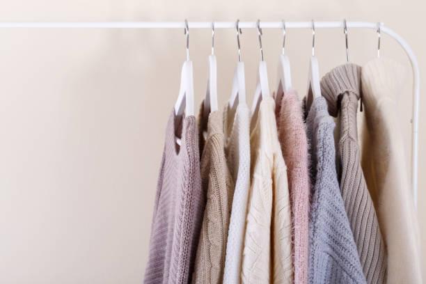 Warme gestrickte, Herbst, Winter oder Frühling Kleidung – Foto