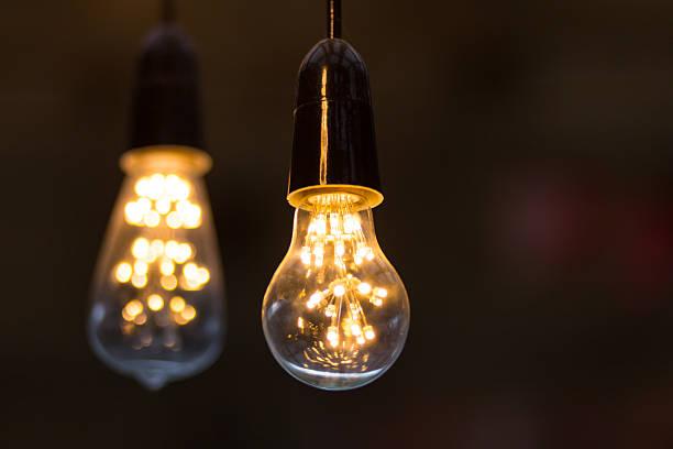 Warme LED-Lampen. – Foto