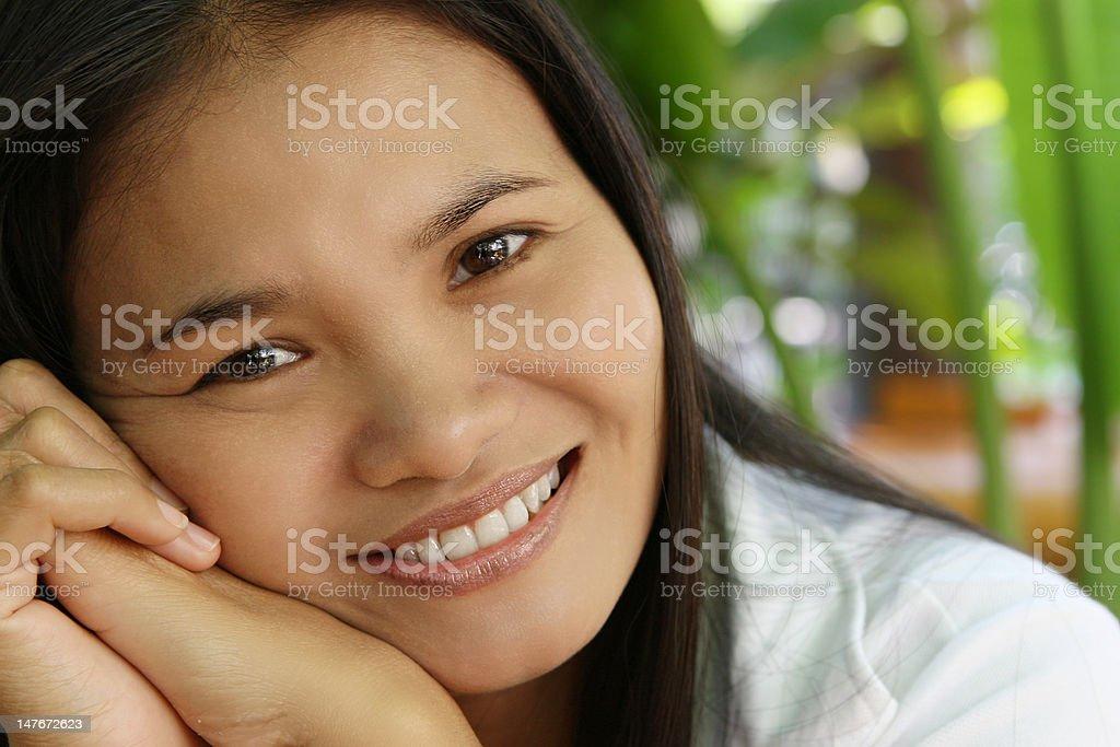 Warm Loving Smile royalty-free stock photo