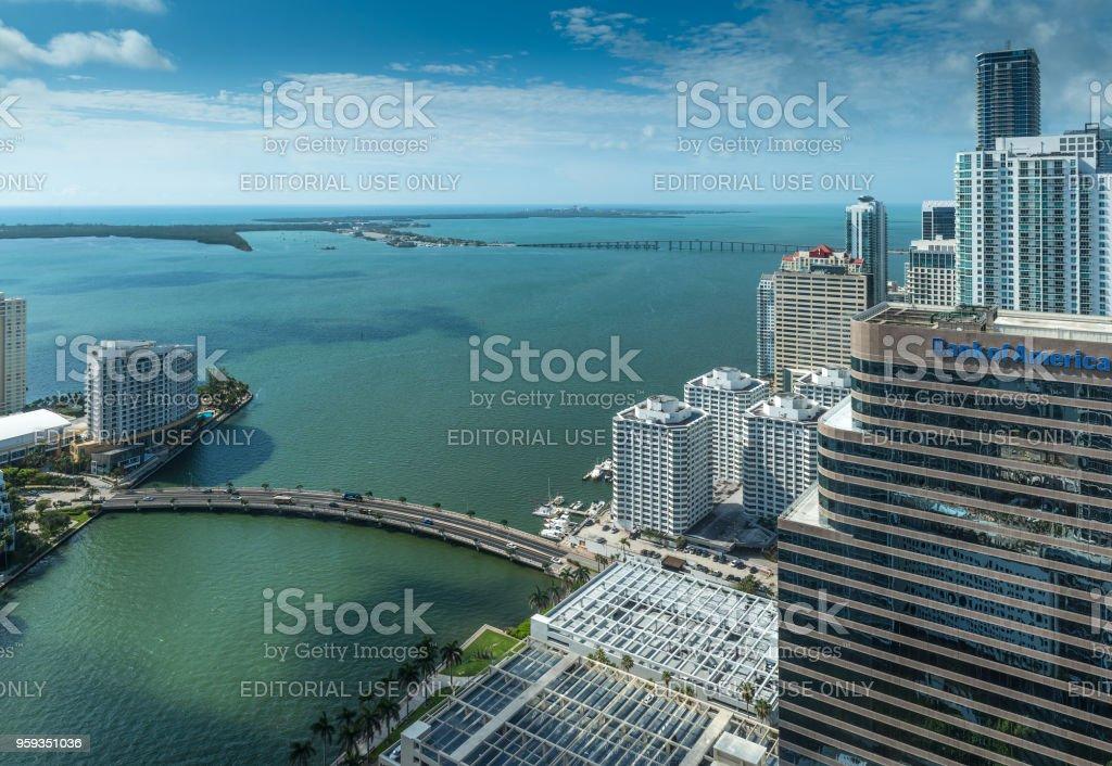 Warm Miami stock photo