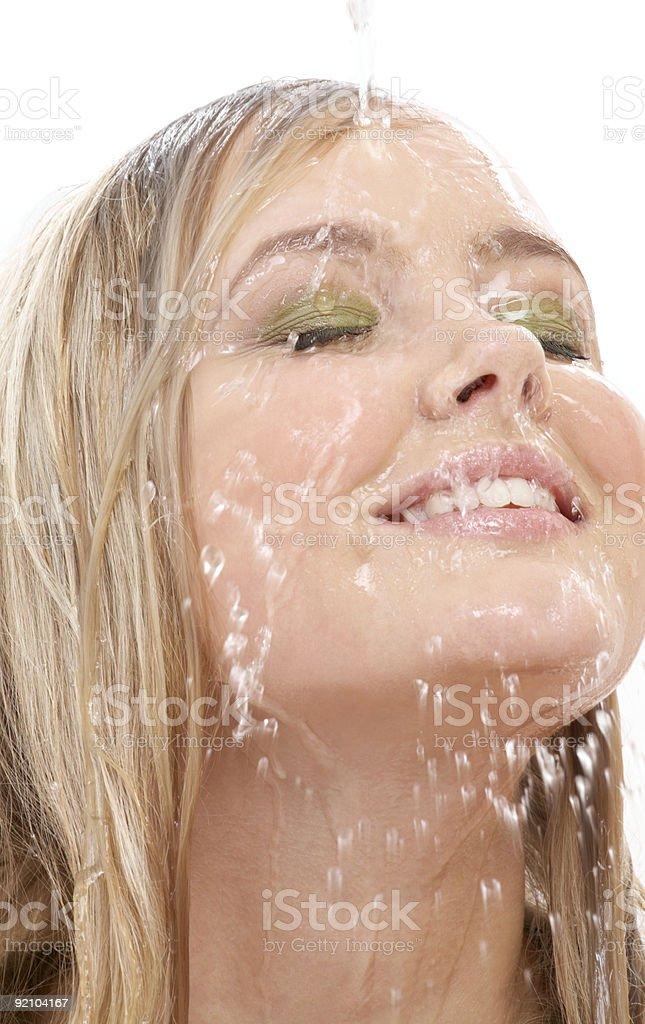 warm shower #2 royalty-free stock photo