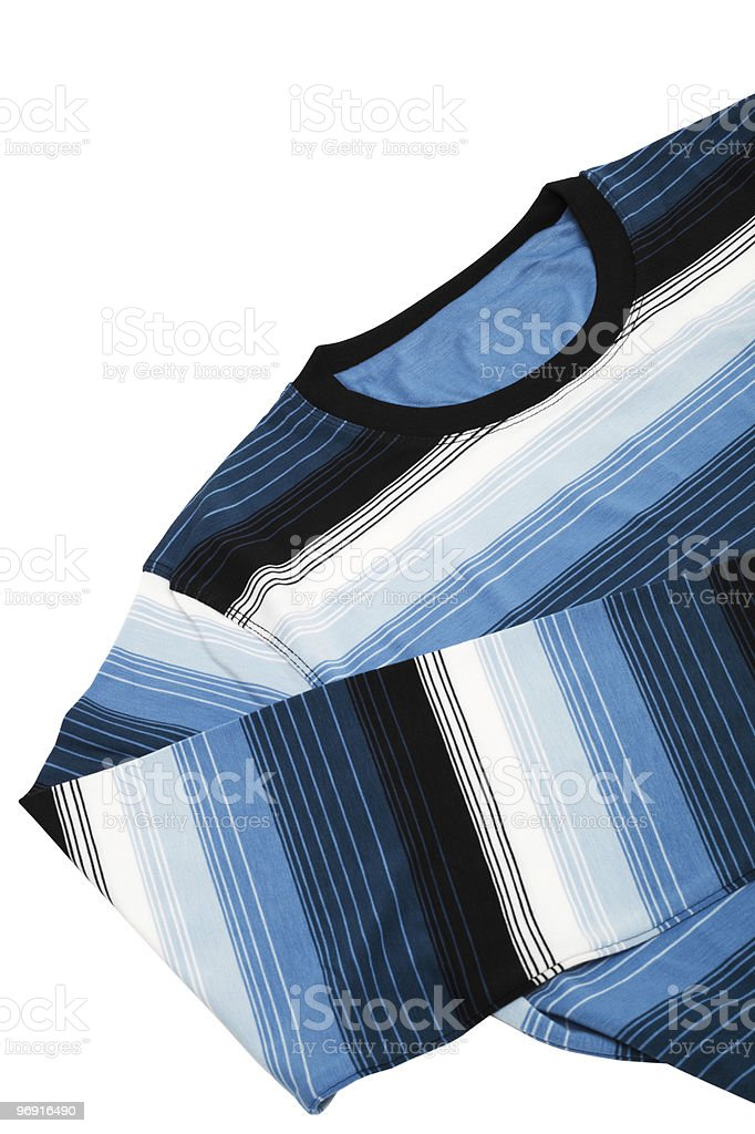 warm striped sweater royalty-free stock photo