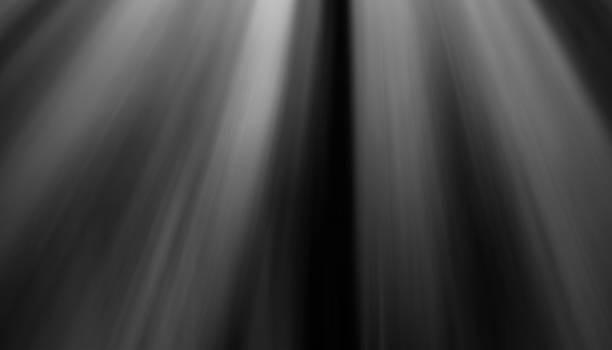 Warme Sonnenstrahlen Lichteffekte isoliert auf schwarzem Hintergrund für Overlay-design – Foto