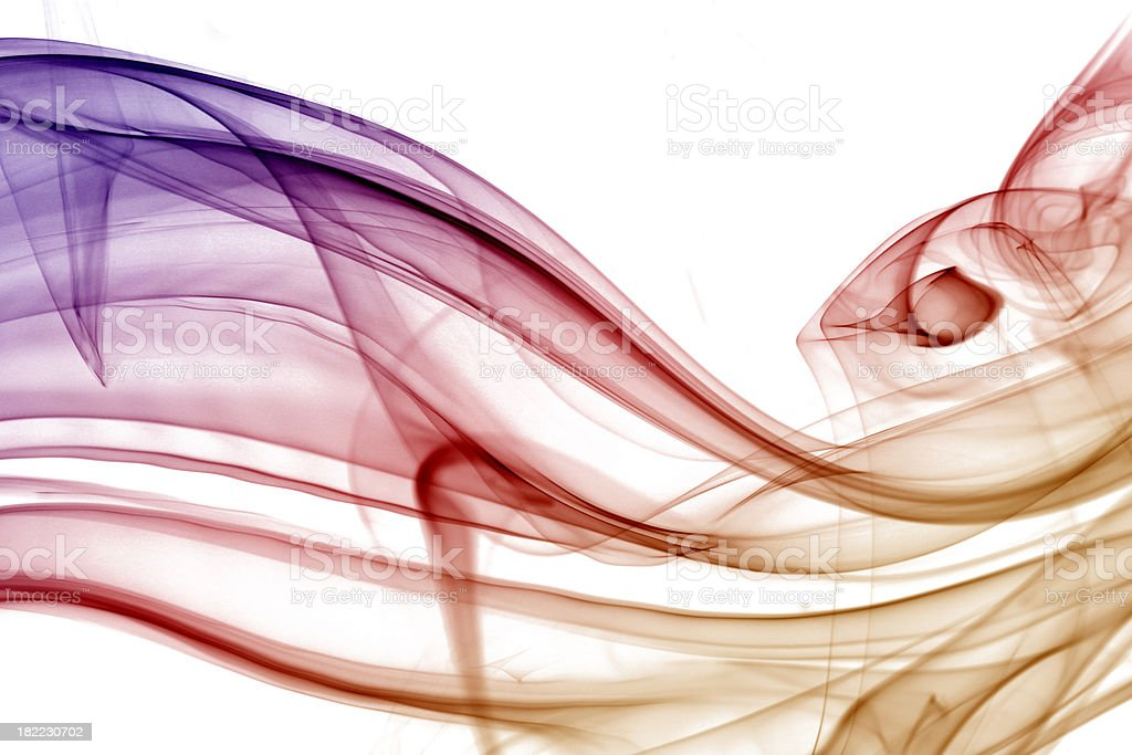 Warm swirly background royalty-free stock photo