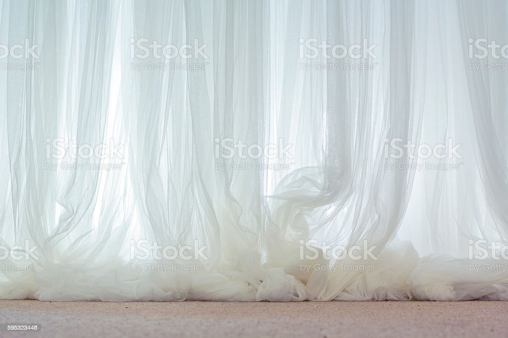 warm transparent graceful fabric stock photo