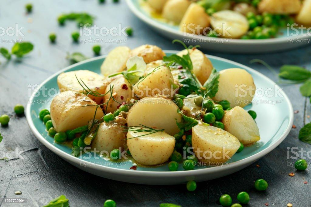 Vegan Potato Salad With Dijon Mustard