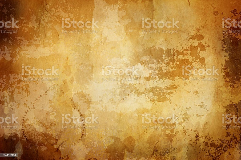 warm vintage background with dark border royalty-free stock photo
