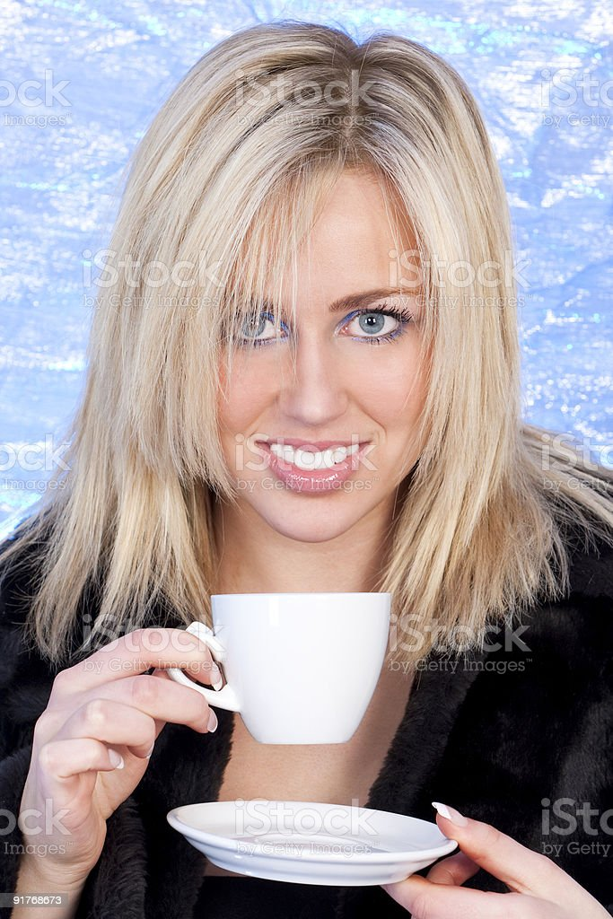 Warming Drink royalty-free stock photo