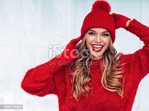 Warmly dressed girl