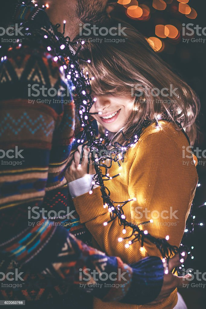 Warmth of love stock photo