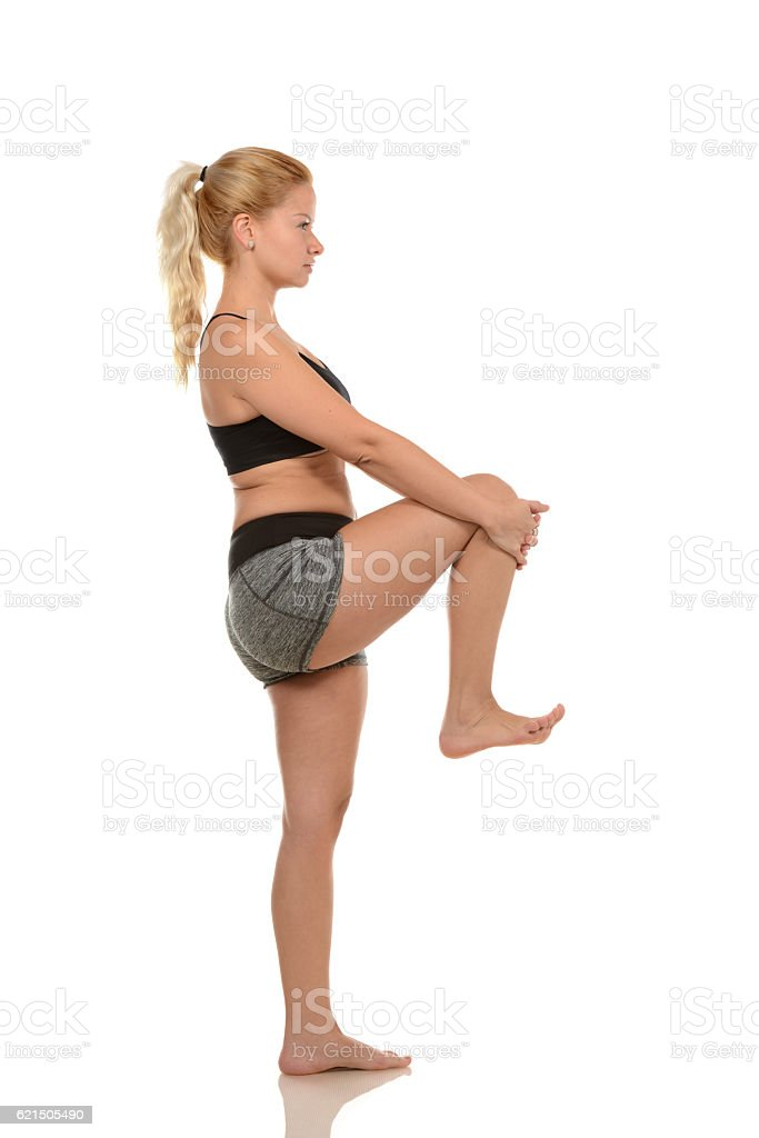 Warm-up and Stretch foto stock royalty-free