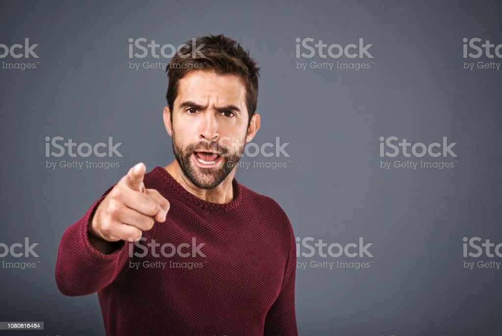 I warned you that would happen! stock photo