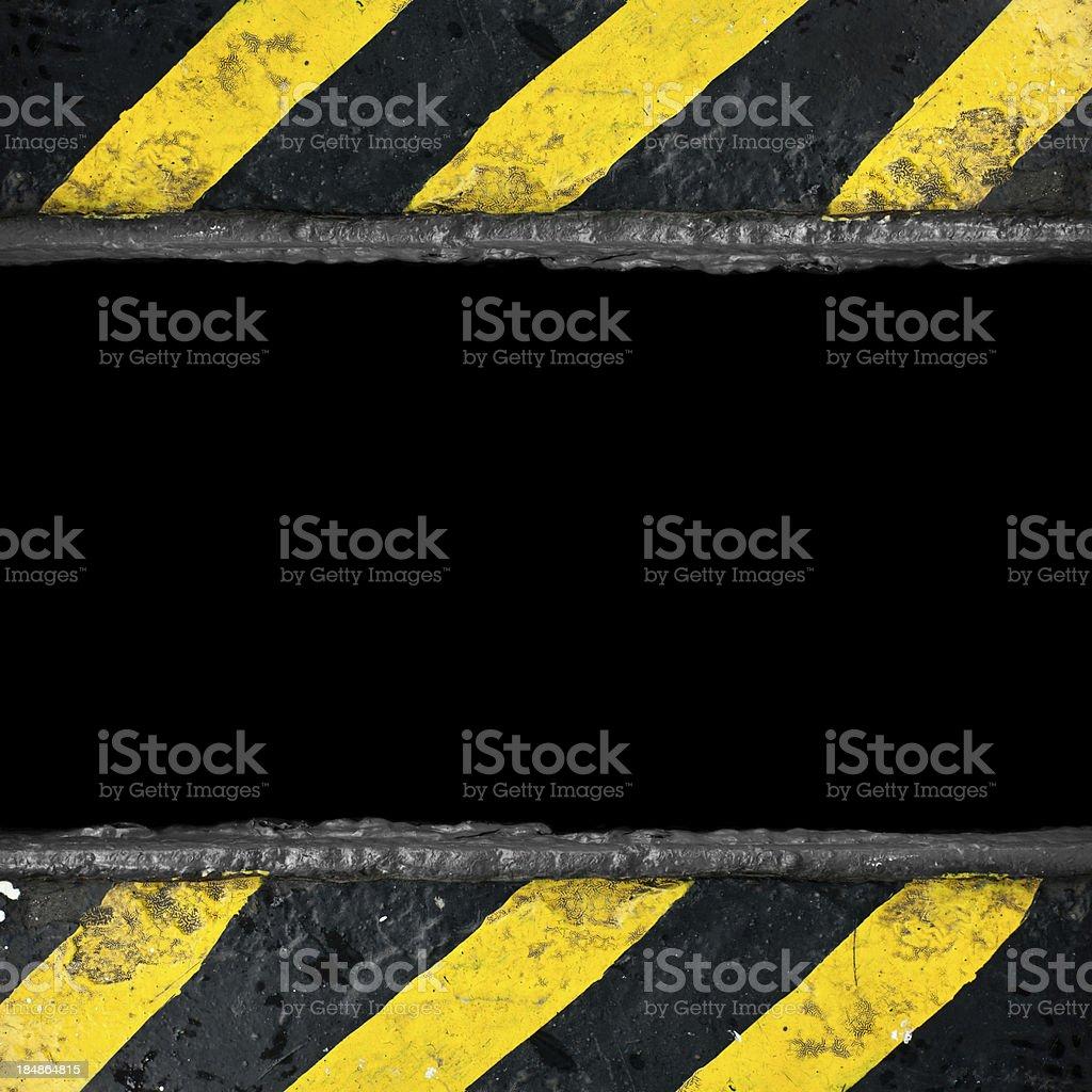Warning Background stock photo