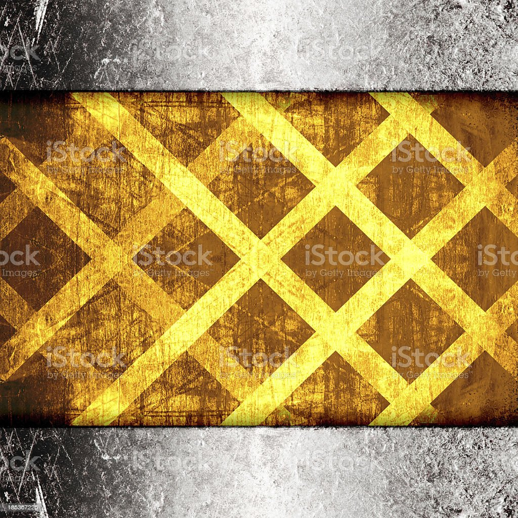 Warning Background Texture royalty-free stock photo