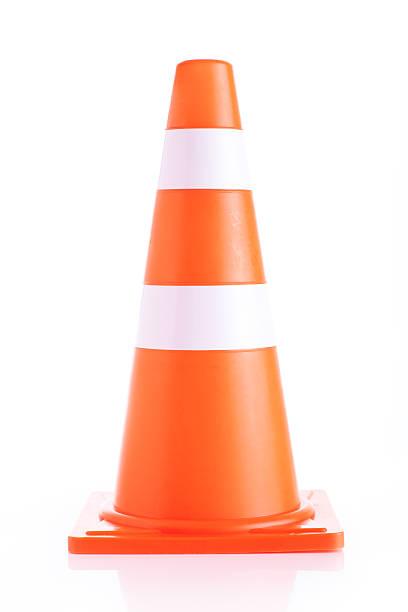 Warning Cone stock photo