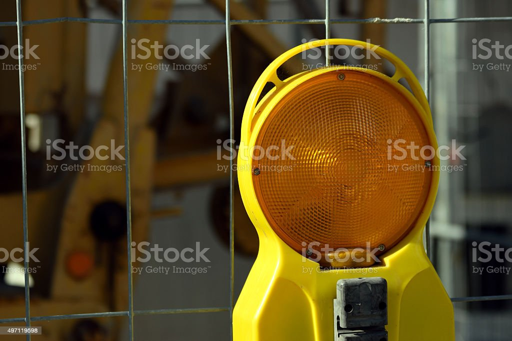 Warnleuchte stock photo