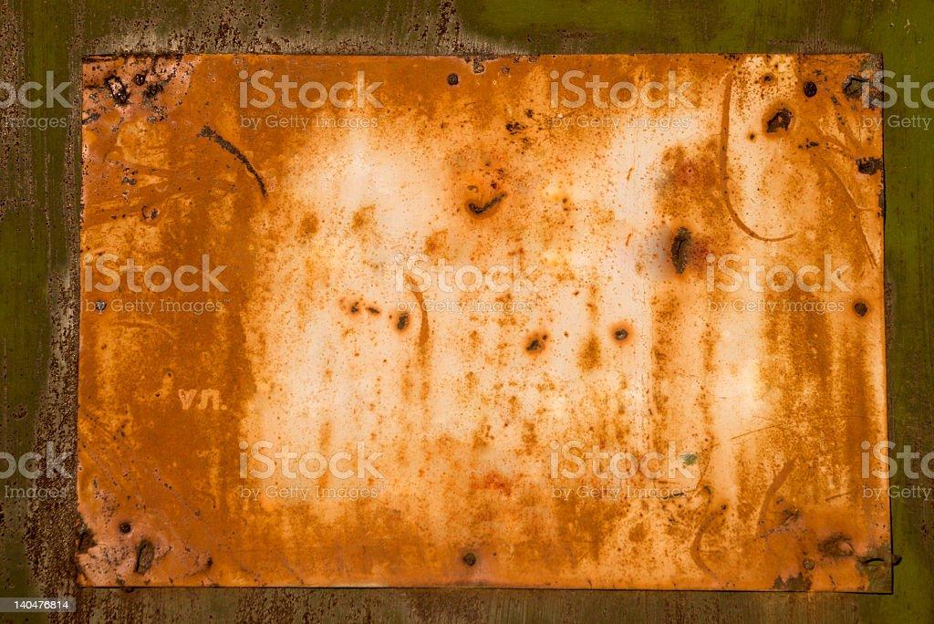 warning notice royalty-free stock photo