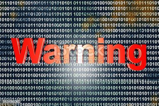 istock Warning 543486060