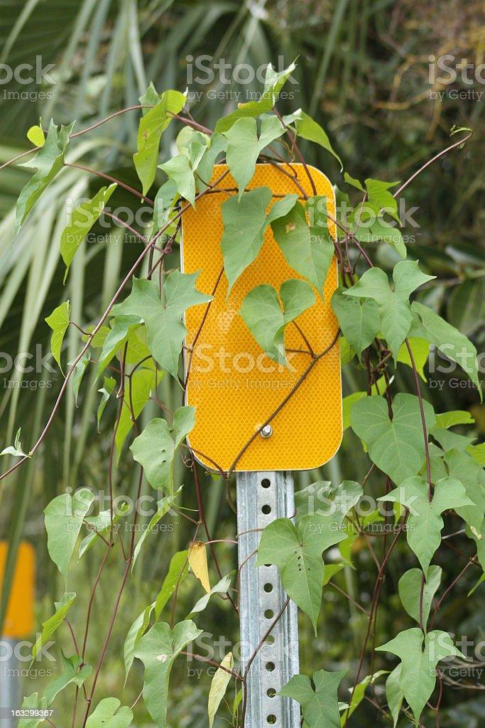 warning reflector royalty-free stock photo