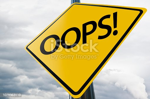 istock OOOPS! / Warning sign concept (Click for more) 1029963110